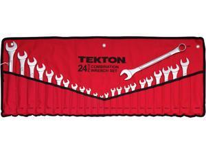 Tekton 1916 24-pc. Combination Wrench Set (SAE/MM)