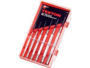 Tekton 2985 6-pc. Precision Screwdriver Set