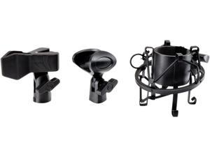 PYLE PRO PMKSH04 Universal Table Clamp Pro Boom Shock Microphone Mount