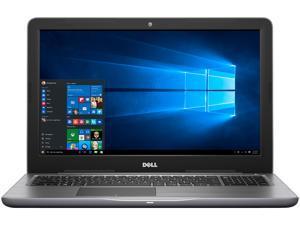 "Dell Inspiron 15 5000 (i5567-1836GRY) Intel Core i5 7200U (2.50 GHz) 8 GB Memory 1 TB HDD Intel HD Graphics 620 15.6"" 1366 x 768 Windows 10 Home 64-Bit"