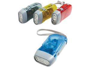 Baumgartens BAU42600 Squeeze LED Flashlight- No Batteries Required- Assorted
