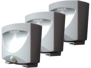 Maxsa Innovations 43341 Outdoor Night Light ,Bronze, 3-Pack