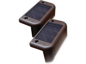 Maxsa Innovations 47332 Solar-Powered Deck Light