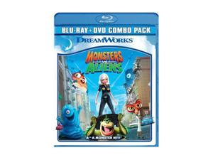 Monsters vs Aliens (Two-Disc Blu-ray/DVD Combo / WS / SUB) Reese Witherspoon, Rainn Wilson, Hugh Laurie, Will Arnett, Seth ...