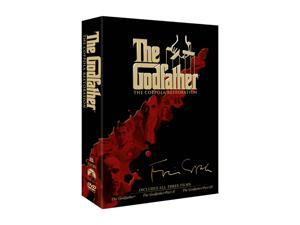 The Godfather - The Coppola Restoration Giftset (DVD / 5 DISCS / WS / Special Edition) Marlon Brando, Al Pacino , Diane Keaton, Robert Duvall, James Caan, Talia Shire, Al Martino, Morgana King, Robert