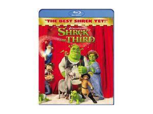 Shrek the Third (Blu-ray / 2007 / WS / SUB) Mike Myers, Cameron Diaz, Eddie Murphy, Antonio Banderas, Julie Andrews