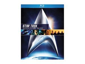Star Trek: Motion Picture Trilogy  (Blu-Ray / 3 DISCS / Box set / Dolby) William Shatner, Leonard Nimoy, DeForest Kelley, ...