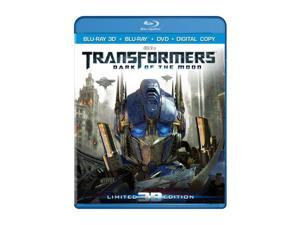 Transformers: Dark of the Moon (3D Blu-ray + DVD + Digital Copy + Blu-ray) Shia LaBeouf, Rosie Huntington-Whiteley, Josh Duhamel, Tyrese Gibson, Patrick Dempsey