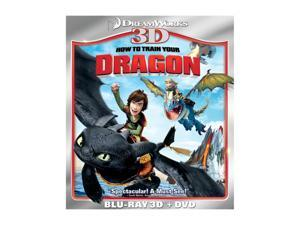 How to Train Your Dragon (3D Blu-ray + DVD + Blu-ray) Jay Baruchel (voice), Gerard Butler (voice), America Ferrera (voice), ...