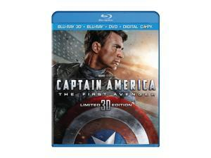 Captain America: The First Avenger (Three-Disc Combo: Blu-ray 3D / Blu-ray / DVD