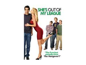 She's Out of My League (DVD / WS / Dolby / ENG-SP-FR-SUB) Jay Baruchel, Alice Eve, T.J. Miller, Nate Torrence, Jasika Nicole, Lindsay Sloane, Mike Vogel, Krysten Ritter, Adam LeFevre, Kim Shaw, Jessic