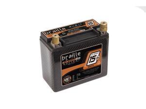 Braille Carbon Fiber AGM Battery B2015C