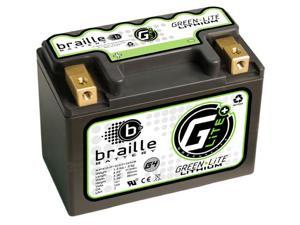 Braille Green-Lite Lithium Motorcycle Battery G4 - LFX07A2-BS12 – Yamaha Honda Ducati Kawasaki  BMW Suzuki  KTM Polaris