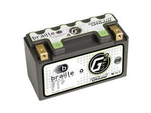 Braille Green-Lite Lithium Motorcycle Battery G9 - YTX9-BS PTX9-BS X2-9 XTAX9-BS GTX9-BS M329BS 740-1825 44025  Upgrade – Yamaha Honda Ducati Kawasaki  BMW Suzuki  KTM Polaris