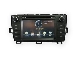 "11-12 Toyota Prius In-Dash Double Din 7"" Touchscreen GPS Navigation MP3 Multimedia Radio G2 Model"