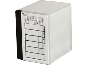 PROMISE Pegasus R PR6HD24TUS Hardware RAID with Thunderbolt Storage Solutions - 24TB (6x4TB)