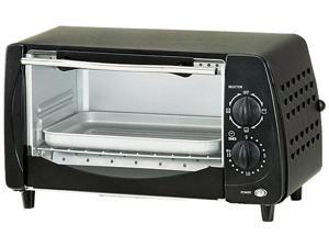 Brentwood TS-345B Black 4 Slice Toaster Oven
