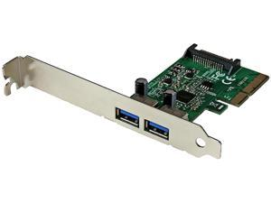 StarTech.com 2 Port USB 3.1 (10Gbps) Card - 2x USB-A - PCIe USB 3.1 Card with Type-A - PCI Express - Supports UASP (PEXUSB312A)
