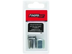 Set Collet Rotozip ROTO ZIP Spiral Saw Cut-Out Accessories CN1 720361006915