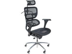 BALT 34729, Ergonomic Executive Butterfly Chair, Black Mesh