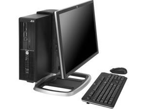 HP Z220 Workstation D8D24UT#ABA Desktop PC Intel Core i3 4GB DDR3 500GB HDD Windows 7 Professional 64