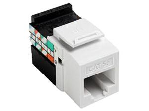 Leviton M16-5G108-00W White Cat 5E Jacks 10-Pack