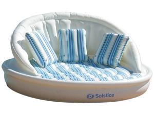 AquaSofa Inflatable Swimming Pool Lounge with Pillows and Pump
