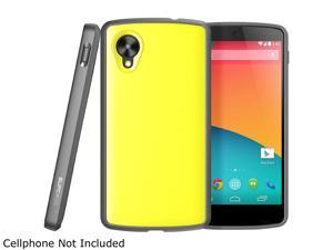 SUPCASE Google Nexus 5 Unicorn Beetle Premium Hybrid Protective Case (Yellow/Gray) - Not Fit LG Google Nexus 4