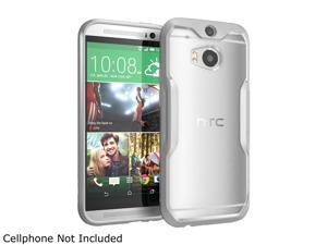 SUPCASE All New HTC One M8 Case - Unicorn Beetle Premium Hybrid Protective Case for HTC One 2014 (Frost Clear/Gray)