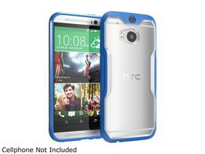 SUPCASE All New HTC One M8 Case - Unicorn Beetle Premium Hybrid Protective Case for HTC One 2014 (Frost Clear/Blue)