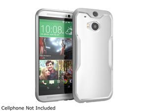 SUPCASE All New HTC One Case - Unicorn Beetle Premium Hybrid Protective Case for HTC One M8 2014 Release (White/Gray)
