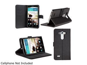 SUPCASE LG G3 Case - Premium Wallet Leather Case (Black, Built-in Credit Card/ID Card Slot)