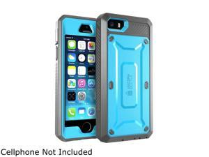iPhone 5S Case, SUPCASE [Heavy Duty Belt Clip Holster] Apple iPhone 5S Case Fit for iPhone 5 [Unicorn Beetle PRO Series] Full-body Rugged Hybrid Cover with Built-in Screen Protector (Blue/Black)