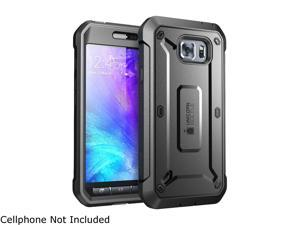 Galaxy S6 Active Case, SUPCASE Full-body Rugged Holster Case with Built-in Screen Protector for Samsung Galaxy S6 Active 2015 Release * Will Not Fit Galaxy S6* Unicorn Beetle PRO Series (Black/Black)