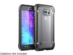 Galaxy S6 Active Case, SUPCASE Unicorn Beetle Series Premium Hybrid Protective Clear Case for Samsung Galaxy S6 Active **Will Not Fit Galaxy S6**, Retail Package (Frost/Black)