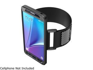Samsung Galaxy Note 5 Case, SUPCASE Easy Fitting Sport Running Armband for Galaxy Note 5 (2015 Release) with Premium Flexible Case Combo (Black)