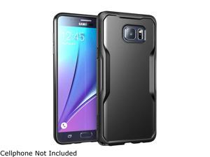 Samsung Galaxy Note 5 Case, SUPCASE Unicorn Beetle Series Premium Hybrid Protective Bumper Case for Galaxy Note 5 (2015 Release) (Black/Black)