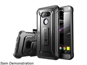 LG G5 Case, SUPCASE Full-body Rugged Holster Case with Built-in Screen Protector for LG G5 2016 Release, Unicorn Beetle PRO Series - Retail Package (Black/Black)