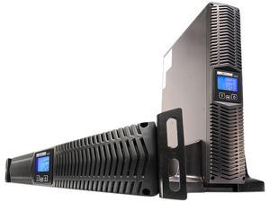 MINUTEMAN E1000RT2U 1000 VA Line Interactive Rack/Wall/Tower UPS with 8 outlets