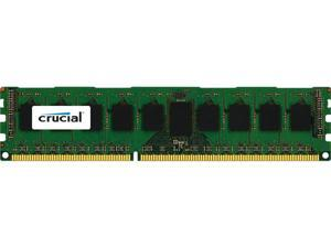 Crucial 8GB Single DDR3L 1600MT/s (PC3-12800) DR x8 ECC UDIMM 240-Pin Memory - CT102472BD160B