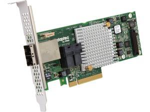 Adaptec RAID 8885 12Gb/s PCIe Gen3 SAS/SATA with 16 (8 internal, 8 external) native ports RAID adapter