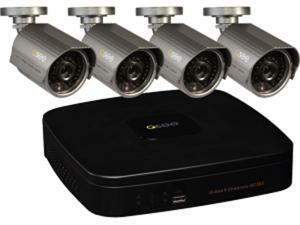 Q-see Premium 8channel 960h Dvr W/ 4-700tvl Cam/1tb Pre  Installed