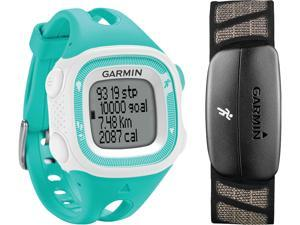 Garmin Forerunner 15 with Heart Rate Teal & White