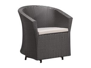 Zuo Modern Horseshoe Bay Chair Espresso - OEM