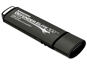 Kanguru - KDFE300-8G - Kanguru Defender Elite300 FIPS 140-2 Certified, USB 3.0 secure flash drive with Physical Write