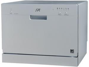SPT SD-2201S Countertop Dishwasher, Silver