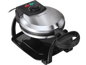 FLIP BELGIAN WAFFLE MAKER ON &READY LIGHTS DRIP TR