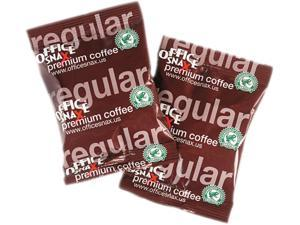 Office Snax OFX00034 Coffee- Office Snax Reg- 1.5 Oz.- 63-CT