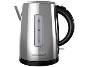 Black & Decker KE2000SD1.7-Liter Cordless Kettle, Silver