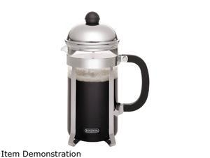 BonJour French Press Monet, Polished Stainless Steel, 8-Cup